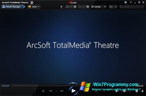 Скриншот программы ArcSoft TotalMedia Theatre для Windows 7