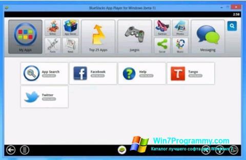 Скриншот программы Tango для Windows 7