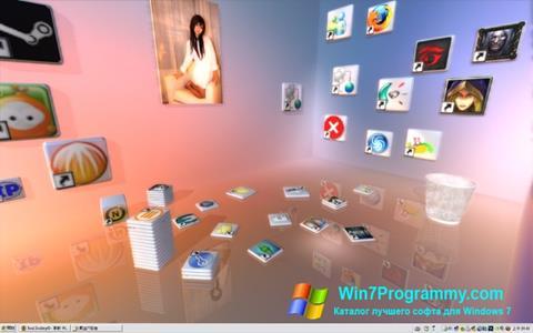 Скриншот программы Real Desktop для Windows 7