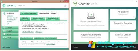 Скриншот программы Adguard для Windows 7