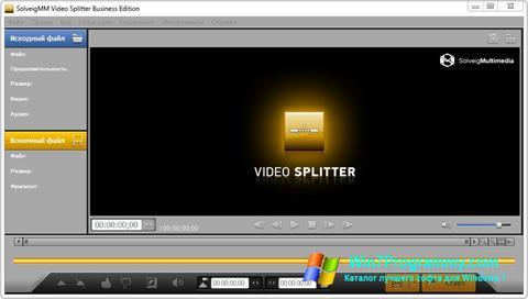 Скриншот программы SolveigMM Video Splitter для Windows 7