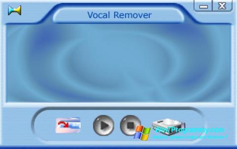 Скриншот программы Yogen Vocal Remover для Windows 7