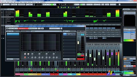 Скриншот программы Cubase для Windows 7