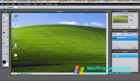 Скриншот программы LightShot для Windows 7
