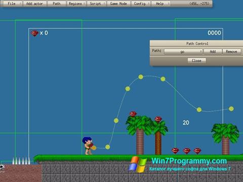 Скриншот программы Game Editor для Windows 7