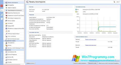 Скриншот программы Kerio Control для Windows 7